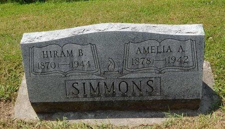 SIMMONS, AMELIA A - Jefferson County, Illinois | AMELIA A SIMMONS - Illinois Gravestone Photos
