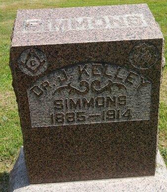 SIMMONS, J KELLEY (DOCTOR) - Jefferson County, Illinois | J KELLEY (DOCTOR) SIMMONS - Illinois Gravestone Photos