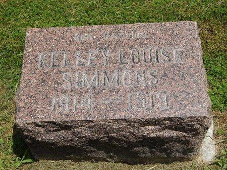 SIMMONS, KELLEY LOUIS - Jefferson County, Illinois   KELLEY LOUIS SIMMONS - Illinois Gravestone Photos