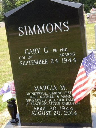 SIMMONS, MARCIA M - Jefferson County, Illinois | MARCIA M SIMMONS - Illinois Gravestone Photos