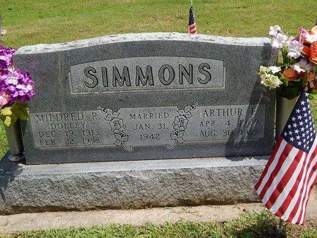 SIMMONS, ARTHUR E - Jefferson County, Illinois | ARTHUR E SIMMONS - Illinois Gravestone Photos