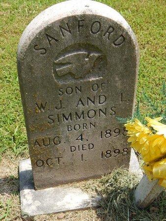 SIMMONS, SANFORD - Jefferson County, Illinois   SANFORD SIMMONS - Illinois Gravestone Photos