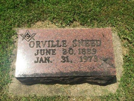 SNEED, ORVILLE - Jefferson County, Illinois | ORVILLE SNEED - Illinois Gravestone Photos
