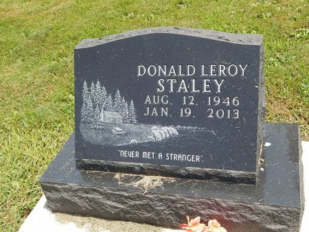 STALEY, DONALD LEROY - Jefferson County, Illinois | DONALD LEROY STALEY - Illinois Gravestone Photos