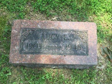 STONE, LUCY E - Jefferson County, Illinois   LUCY E STONE - Illinois Gravestone Photos