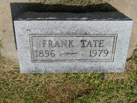 TATE, FRANK - Jefferson County, Illinois | FRANK TATE - Illinois Gravestone Photos