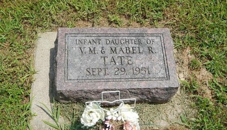 TATE, INFANT DAUGHTER - Jefferson County, Illinois | INFANT DAUGHTER TATE - Illinois Gravestone Photos
