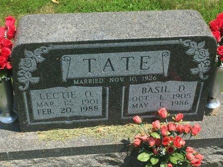 TATE, LECTIE O - Jefferson County, Illinois | LECTIE O TATE - Illinois Gravestone Photos