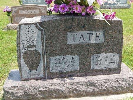 TATE, VANCE M - Jefferson County, Illinois | VANCE M TATE - Illinois Gravestone Photos