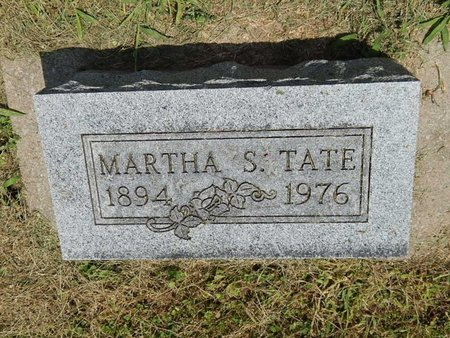 TATE, MARTHA S - Jefferson County, Illinois   MARTHA S TATE - Illinois Gravestone Photos
