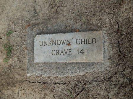 UNKNOWN, CHILD - Jefferson County, Illinois   CHILD UNKNOWN - Illinois Gravestone Photos
