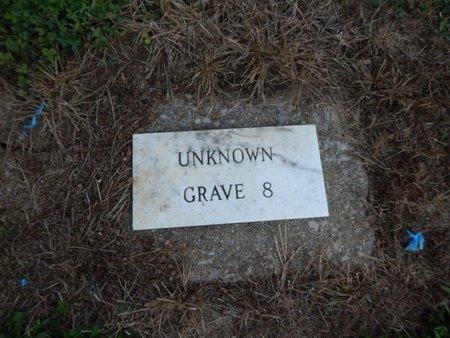 UNKNOWN, GRAVE 8 - Jefferson County, Illinois   GRAVE 8 UNKNOWN - Illinois Gravestone Photos
