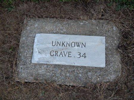 UNKNOWN, GRAVE 34 - Jefferson County, Illinois | GRAVE 34 UNKNOWN - Illinois Gravestone Photos