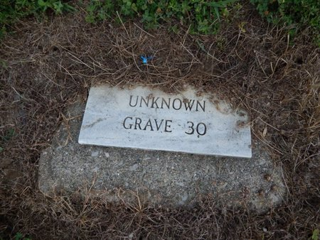 UNKNOWN, GRAVE 30 - Jefferson County, Illinois | GRAVE 30 UNKNOWN - Illinois Gravestone Photos
