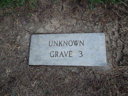UNKNOWN, GRAVE 3 - Jefferson County, Illinois | GRAVE 3 UNKNOWN - Illinois Gravestone Photos