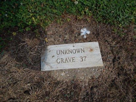 UNKNOWN, GRAVE 37 - Jefferson County, Illinois | GRAVE 37 UNKNOWN - Illinois Gravestone Photos