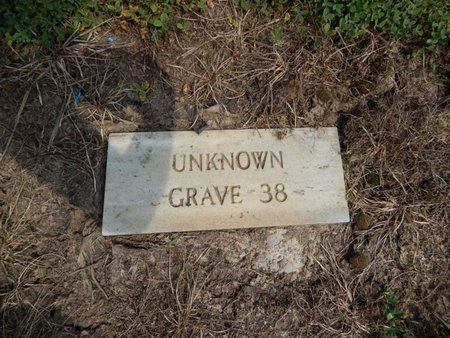 UNKNOWN, GRAVE 38 - Jefferson County, Illinois | GRAVE 38 UNKNOWN - Illinois Gravestone Photos