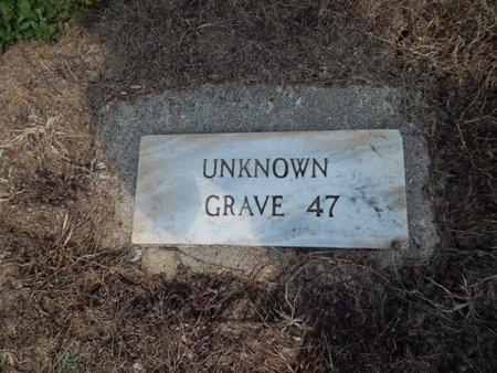 UNKNOWN, GRAVE 47 - Jefferson County, Illinois | GRAVE 47 UNKNOWN - Illinois Gravestone Photos