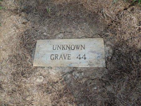 UNKNOWN, GRAVE 44 - Jefferson County, Illinois | GRAVE 44 UNKNOWN - Illinois Gravestone Photos