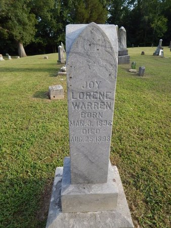 WARREN, JOY LORENE - Jefferson County, Illinois   JOY LORENE WARREN - Illinois Gravestone Photos