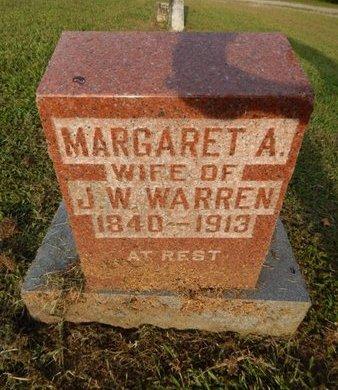 WARREN, MARGARET A - Jefferson County, Illinois | MARGARET A WARREN - Illinois Gravestone Photos