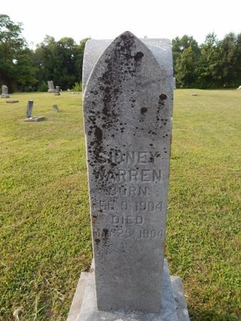 WARREN, SIDNEY - Jefferson County, Illinois | SIDNEY WARREN - Illinois Gravestone Photos