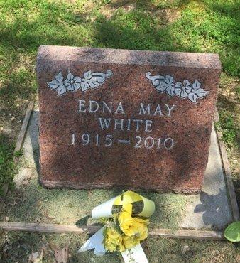 WHITE, EDNA MAY - Jefferson County, Illinois   EDNA MAY WHITE - Illinois Gravestone Photos