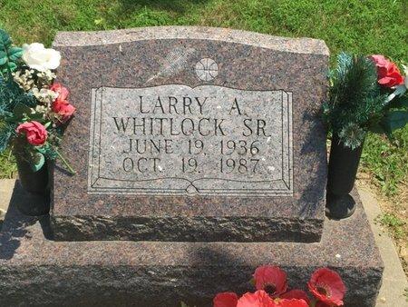 WHITLOCK, LARRY A SR - Jefferson County, Illinois | LARRY A SR WHITLOCK - Illinois Gravestone Photos