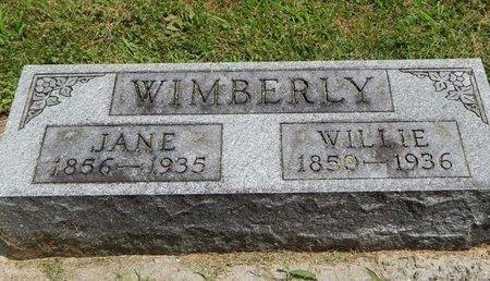 WIMBERLY, WILLIAM NEWTON - Jefferson County, Illinois | WILLIAM NEWTON WIMBERLY - Illinois Gravestone Photos