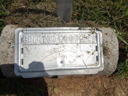 WOODWARD, BRANTON - Jefferson County, Illinois | BRANTON WOODWARD - Illinois Gravestone Photos