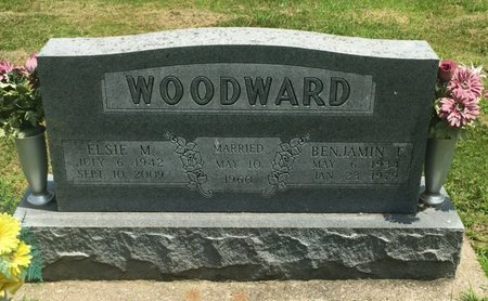 WOODWARD, ELSIE M - Jefferson County, Illinois | ELSIE M WOODWARD - Illinois Gravestone Photos