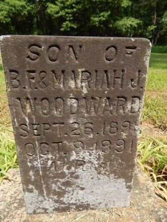 WOODWARD, GEORGE - Jefferson County, Illinois   GEORGE WOODWARD - Illinois Gravestone Photos