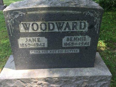 WOODWARD, BENNIE - Jefferson County, Illinois | BENNIE WOODWARD - Illinois Gravestone Photos