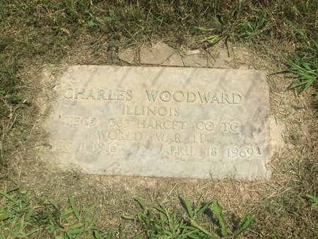 WOODWARD (VETERAN WWII), CHARLES - Jefferson County, Illinois | CHARLES WOODWARD (VETERAN WWII) - Illinois Gravestone Photos
