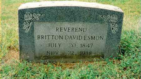 ESMON, BRITTON DAVID - Jefferson County, Illinois | BRITTON DAVID ESMON - Illinois Gravestone Photos