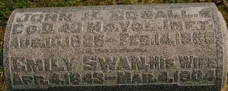 EDSALL, EMILY MINERVA - Jersey County, Illinois | EMILY MINERVA EDSALL - Illinois Gravestone Photos