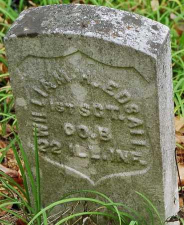 EDSALL, WILLIAM H. - Jersey County, Illinois | WILLIAM H. EDSALL - Illinois Gravestone Photos