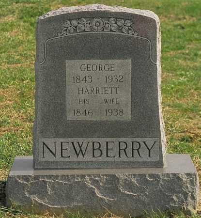 NEWBERRY, HARRIET - Jersey County, Illinois | HARRIET NEWBERRY - Illinois Gravestone Photos