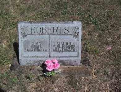 ROBERTS, CORA - Jo Daviess County, Illinois | CORA ROBERTS - Illinois Gravestone Photos