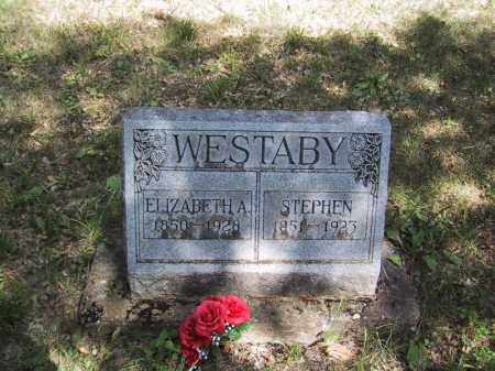 WESTABY, ELIZABETH A - Jo Daviess County, Illinois | ELIZABETH A WESTABY - Illinois Gravestone Photos
