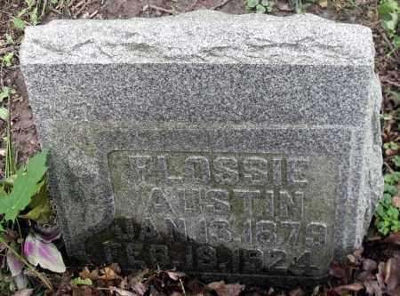 AUSTIN, FLOSSIE - Kane County, Illinois   FLOSSIE AUSTIN - Illinois Gravestone Photos