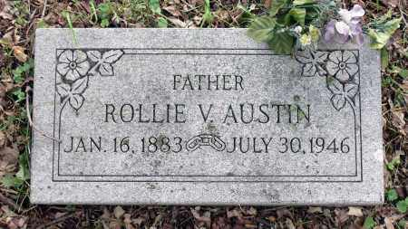AUSTIN, ROLLIE V. - Kane County, Illinois | ROLLIE V. AUSTIN - Illinois Gravestone Photos