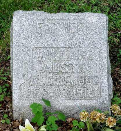 AUSTIN, WILLARD - Kane County, Illinois   WILLARD AUSTIN - Illinois Gravestone Photos