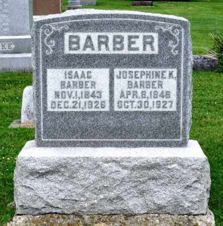BARBER, ISAAC - Kane County, Illinois | ISAAC BARBER - Illinois Gravestone Photos