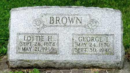 BROWN, GEORGE I. - Kane County, Illinois | GEORGE I. BROWN - Illinois Gravestone Photos