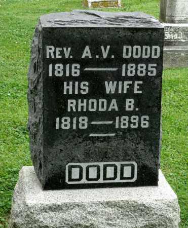DODD, RHODA B. - Kane County, Illinois | RHODA B. DODD - Illinois Gravestone Photos