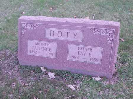 DOTY, FAY E. - Kane County, Illinois | FAY E. DOTY - Illinois Gravestone Photos