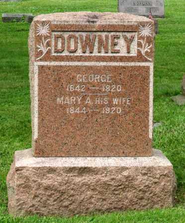 DOWNEY, MARY A. - Kane County, Illinois | MARY A. DOWNEY - Illinois Gravestone Photos