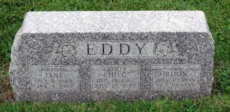 EDDY, PHILO - Kane County, Illinois | PHILO EDDY - Illinois Gravestone Photos