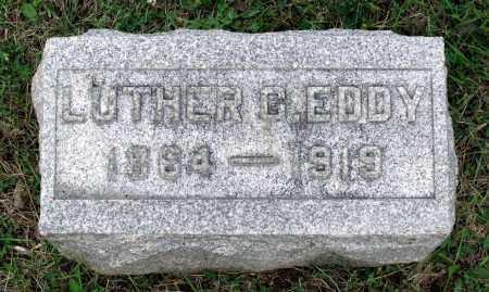 EDDY, LUTHER G. - Kane County, Illinois | LUTHER G. EDDY - Illinois Gravestone Photos